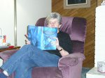 Grandma O Reading Harry Potter