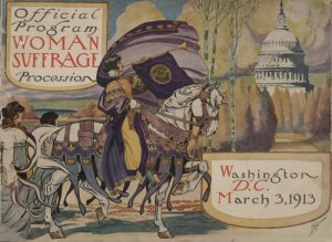 officialprogramofsuffrageparade