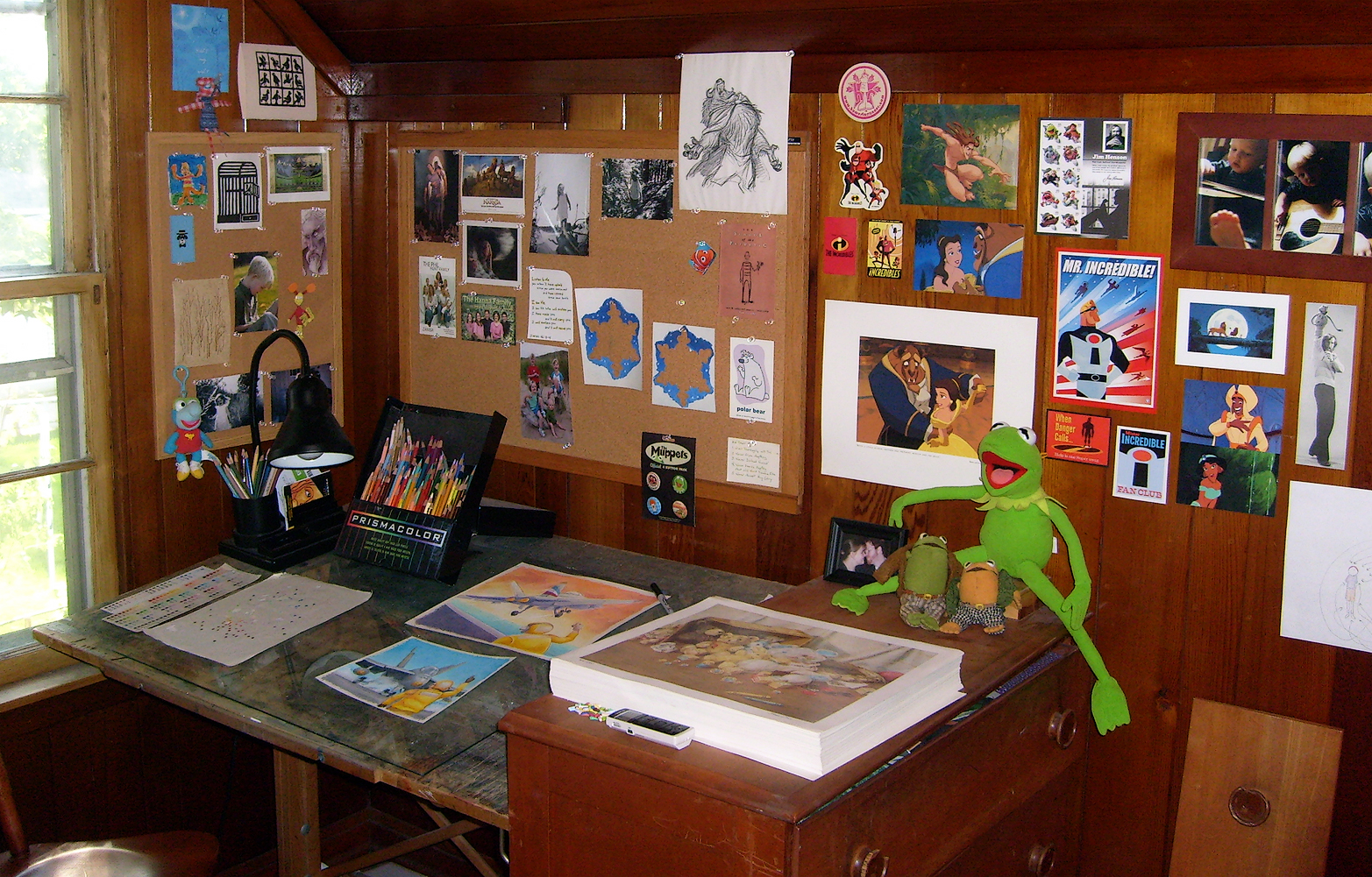 Aaron's Workplace - Where books are born!
